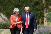 Ẩn ý với món quà Thủ tướng Anh tặng Tổng thống Trump