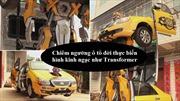 Chiêm ngưỡng Transformer phiên bản thực từ ô tô hỏng