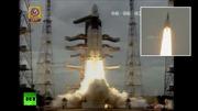 Cận cảnh Ấn Độ phóng thành công tàu thăm dò Mặt trăng