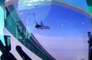 Xem tiêm kích MiG-31 đánh chặn 'máy bay địch xâm nhập' ở độ cao 20 km