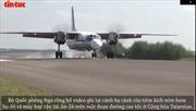 Xem tiêm kích Su-34 hạ cánh xuống đường cao tốc