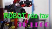 Robot rửa tay làm từ Lego