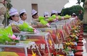 Quy tập 116 hài cốt liệt sĩ quân tình nguyện Việt Nam hy sinh qua các thời kỳ