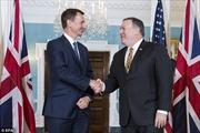 Ngoại trưởng Anh, Mỹ hội đàm về Nga và Iran