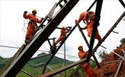 Sơn La khôi phục lưới điện sau mưa lũ