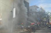 Cháy lớn tại quán bar đang sửa chữa ở Đà Nẵng