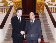 Thủ tướng Chính phủ Nguyễn Xuân Phúc hội kiến Thủ tướng Hàn Quốc Lee Nak-yeon 