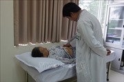 Cắt khối u nang gan 10 cm cho bệnh nhân 69 tuổi