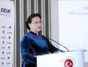 Chủ tịch Quốc hội Nguyễn Thị Kim Ngân dự Diễn đàn Kinh doanh và Đầu tư Thổ Nhĩ Kỳ - Việt Nam
