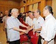 Tổng Bí thư Nguyễn Phú Trọng tiếp xúc cử tri thành phố Hà Nội