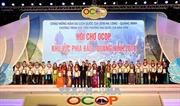Hội chợ OCOP Quảng Ninh 2018 'khoe' gà, miến dong Tiên Yên