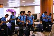Tuyển Việt Nam đến Yangon, sẵn sàng cho trận đấu với chủ nhà Myanmar