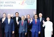 Thủ tướng Nguyễn Xuân Phúc dự đối thoại giữa các nhà Lãnh đạo APEC với Quỹ Tiền tệ Quốc tế