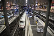 Giao thông đường sắt ở Đức tê liệt do đình công