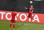 Hình ảnh tập luyện tại UAE của Đội tuyển Việt Nam