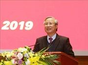 Thường trực Ban Bí thư Trần Quốc Vượng chúc Tết cán bộ, nhân viên Văn phòng Trung ương Đảng