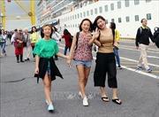 Hơn 2.000 du khách 'xông đất'Đà Nẵng bằng đường biển