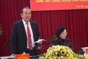 Phó Thủ tướng Trương Hòa Bình làm việc tại tỉnh Yên Bái về công tác phòng, chống tham nhũng
