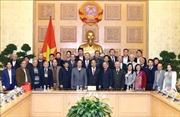 Thủ tướng Nguyễn Xuân Phúc gặp mặt Hội Giáo dục chăm sóc sức khỏe cộng đồng Việt Nam