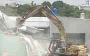 TP Hồ Chí Minh: Cưỡng chế công trình vi phạm tại khu đất công phường 6, quận Tân Bình