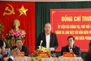 Phó Thủ tướng Trương Hòa Bình làm việc tại Quảng Trị về công tác chống buôn lậu