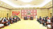 Thắt chặt tình đoàn kết hữu nghị Việt - Lào