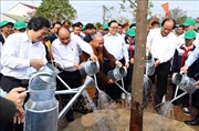 Thủ tướng Nguyễn Xuân Phúc dự Lễ phát động 'Tết trồng cây đời đời nhớ ơn Bác Hồ'