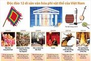 Độc đáo 12 di sản văn hóa phi vật thể của Việt Nam