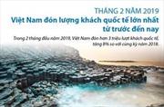 Việt Nam đón lượng khách quốc tế lớn nhất từ trước đến nay