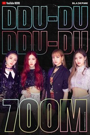 Ban nhạc BLACKPINK cùa Hàn Quốc lập kỷ lục 700 triệu lượt xem trên YouTube