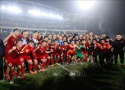 Tổng Thư ký Liên đoàn Bóng đá châu Áchúc mừng Đội tuyển U23 Việt Nam