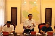 Đoàn công tác của Tiểu ban Văn kiện Đại hội XIII làm việc tại Đắk Nông