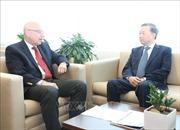 Bộ trưởng Tô Lâm thăm, làm việc với lãnh đạo Liên hợp quốc tại Hoa Kỳ