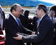 Thủ tướng bắt đầu tham dự Diễn đàn Cấp cao hợp tác 'Vành đai và Con đường' tại Bắc Kinh