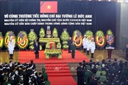 Cử hành trọng thể Lễ truy điệu nguyên Chủ tịch nước, Đại tướng Lê Đức Anh