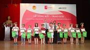 Trao giải Cuộc thi Olympic tiếng Anh dành cho học sinh tiểu học thành phố Hà Nội lần thứ 16
