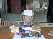 Chặt 'mắt xích' buôn bán ma túy và vũ khí từ Lào về Việt Nam