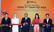 Thủ tướng Nguyễn Xuân Phúc dự lễ khai trương Công ty T&T Nga