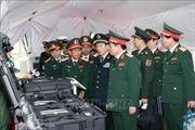 Bộ Quốc phòng Trung Quốc trao tặng trang bị cho Bộ Quốc phòng Việt Nam