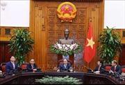 Thủ tướng Nguyễn Xuân Phúc tiếp Chủ tịch Tập đoàn SK Hàn Quốc
