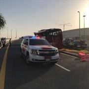 Tai nạn xe buýt nghiêm trọng tại Dubai, 17 người thiệt mạng