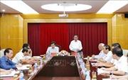 Đoàn Tiểu ban văn kiện Đại hội XIII làm việc tại Thanh tra Chính phủ