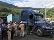 Bắt đối tượng nghi ngáo đá 'tông' xe liên hoàn trong hầm Hải Vân