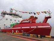 Tàu phá băng đầu tiên tự chế tạo của Trung Quốc