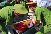 Truy điệu và an táng hài cốt liệt sĩ hy sinh ở Campuchia