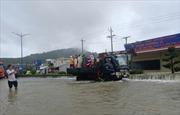 Nước ngập chưa kịp rút, đảo Phú Quốc lại tiếp tục hứng chịu mưa lớn