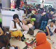Trên 1.000 hành khách kẹt tại sân bay Phú Quốc