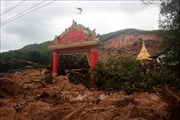 22 người thiệt mạng trong vụ lở đất do mưa bão tại Myanmar