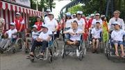 Trên 5.000 người đi bộ đồng hành vì nạn nhân chất độc da cam
