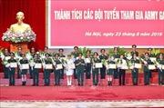 Bộ Quốc phòng tuyên dương các đội tuyển tham gia Army Games 2019